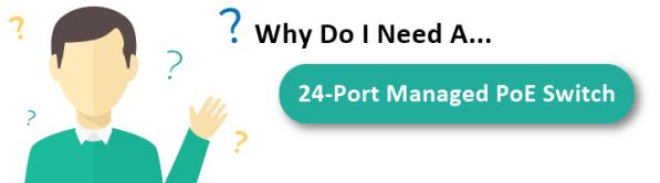 24-port poe switch